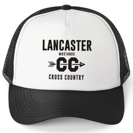 Cross Country Trucker Hat - Team Name With Text