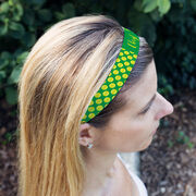 Tennis Juliband No-Slip Headband - Personalized Tennis Ball Pattern