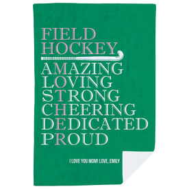 Field Hockey Premium Blanket - Mother Words