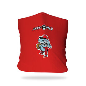 Seams Wild Baseball Multifunctional Headwear - Rojo Chomp RokBAND