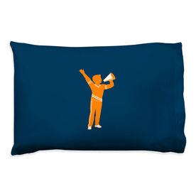 Cheerleading Pillowcase - Guy Cheerleader