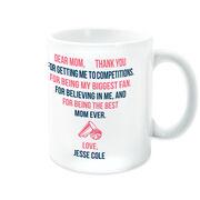 Cheerleading Coffee Mug - Dear Mom Heart