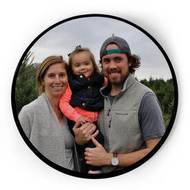 Personalized Circle Plaque - Custom Photo