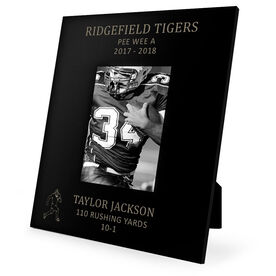 Football Engraved Picture Frame - Running Back Stats