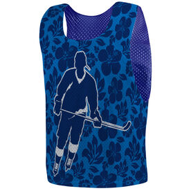 Hockey Pinnie - Hibiscus Hockey Player