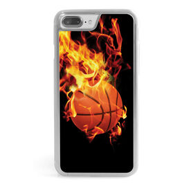 Basketball iPhone® Case - On Fire