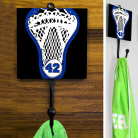 Guys Lacrosse Hook - Personalized Stick Head