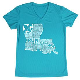 Women's Running Short Sleeve Tech Tee Louisiana State Runner