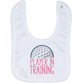 Golf Baby Bib - Player In Training