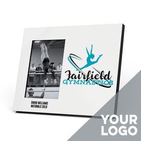 Gymnastics Photo Frame - Custom Logo