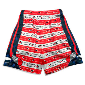 Stars & Stripes Hockey Shorts
