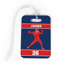 Football Bag/Luggage Tag - Personalized Quaterback