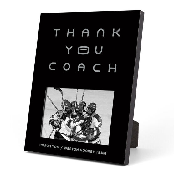 Hockey Photo Frame - Thank You Coach