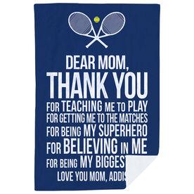 Tennis Premium Blanket - Dear Mom