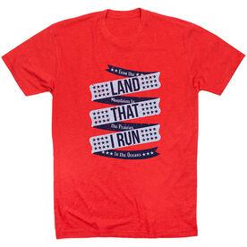 Running Short Sleeve T-Shirt - Land That I Run