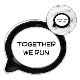 Running Shoelace Charm - Together We Run