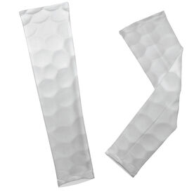 Golf Dimples Arm Sleeves