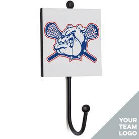 Guys Lacrosse Medal Hook - Your Logo