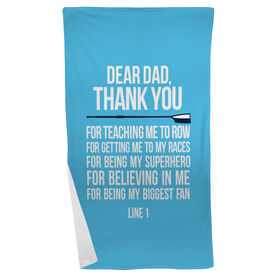 Crew Beach Towel Dear Dad