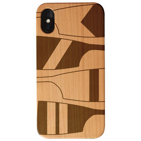 Crew Engraved Wood IPhone® Case - Giant Oars