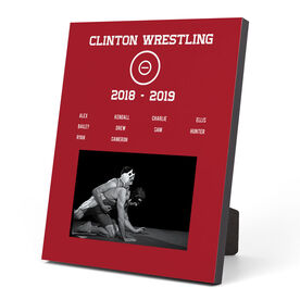 Wrestling Photo Frame - Team Roster