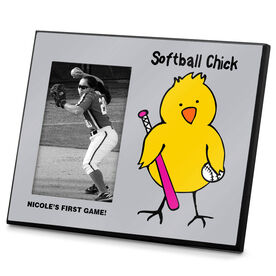 Softball Photo Frame Softball Chick
