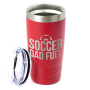 Soccer 20oz. Double Insulated Tumbler - Soccer Dad Fuel