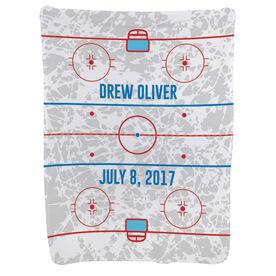 Hockey Baby Blanket - Rink