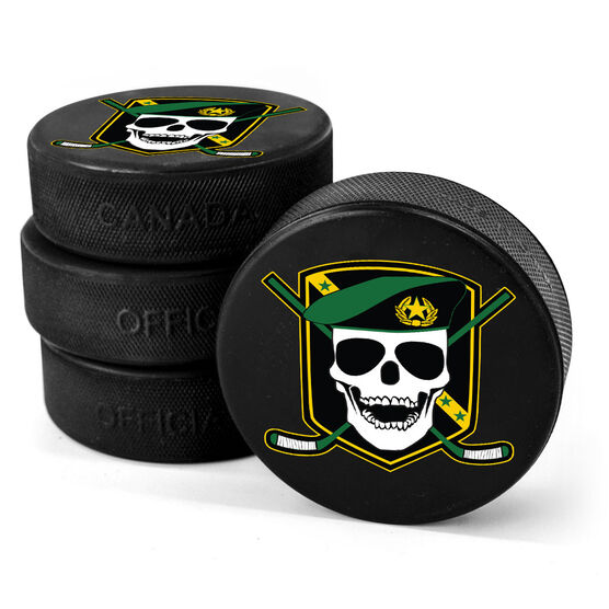 Personalized Hockey Puck - Your Logo
