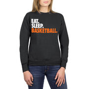 Basketball Crew Neck Sweatshirt - Eat Sleep Basketball