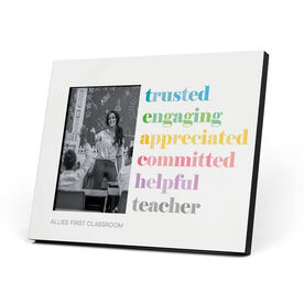 Personalized Photo Frame - Teacher Mantra