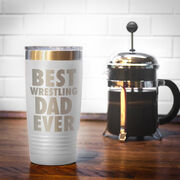 Wrestling 20 oz. Double Insulated Tumbler - Best Dad Ever
