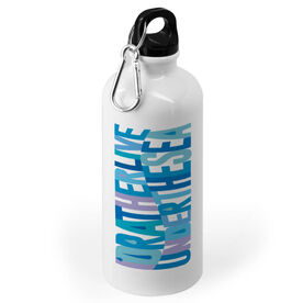Swimming 20 oz. Stainless Steel Water Bottle - I'd Rather Live Under the Sea