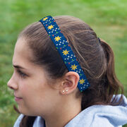 Athletic Juliband No-Slip Headband - Christmas Lights
