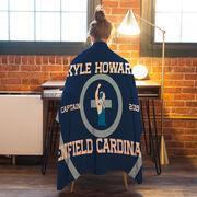 Wrestling Premium Blanket - Personalized Wrestling Captain