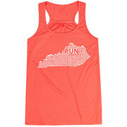 Flowy Racerback Tank Top - Kentucky