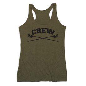 Crew Women's Everyday Tank Top - Crew Crossed Oars Banner