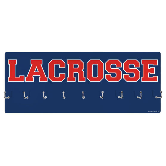 Lacrosse Hooked on Medals Hanger - Word