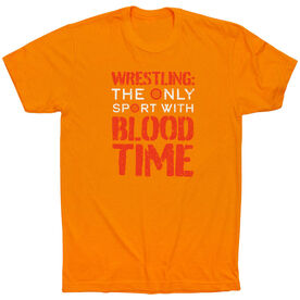 Wrestling T-Shirt Short Sleeve - Blood Time
