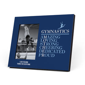 Gymnastics Photo Frame - Mother Words (Girl Gymnast)