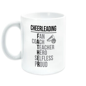 Cheerleading Coffee Mug - Cheerleading Father Words