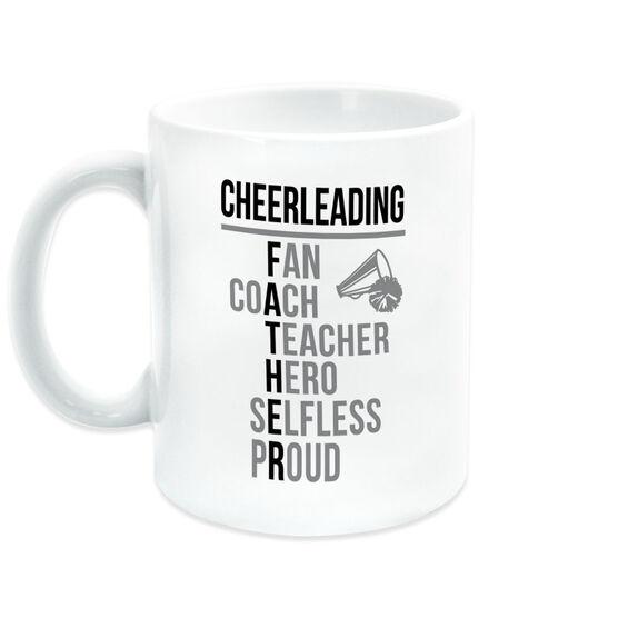 Cheerleading Coffee Mug - Cheerleading Father Words