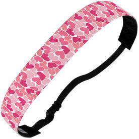 Athletic Juliband No-Slip Headband - Heart Pattern