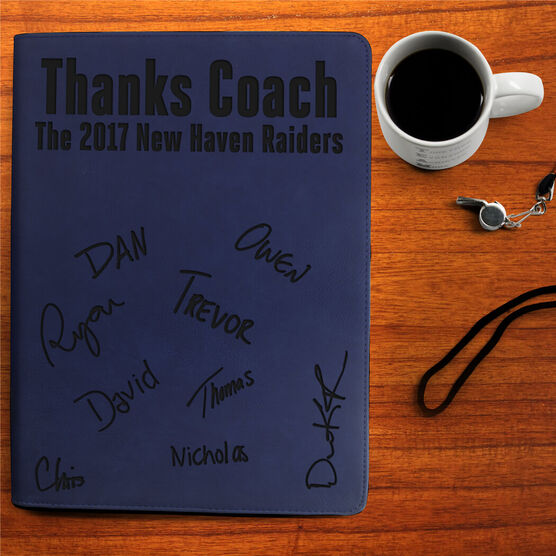 Cross Country Executive Portfolio - Thanks Coach with Signatures