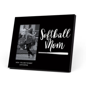 Softball Photo Frame - Softball Mom Script