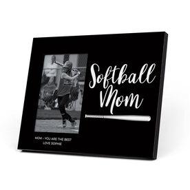 Softball Photo Frame - Softball Mom Script