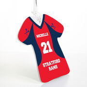 Girls Lacrosse Jersey Bag/Luggage Tag - Personalized Jersey
