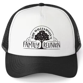 Personalized Trucker Hat - Family Reunion