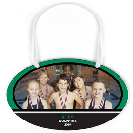 Swimming Oval Sign - Team Photo
