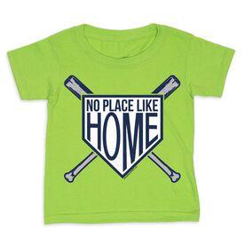Baseball Toddler Short Sleeve Tee - No Place Like Home